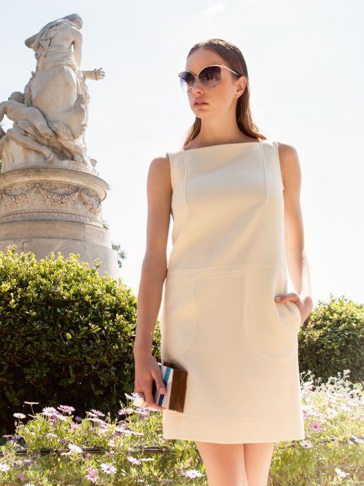 Міні-сукня з заниженою талією