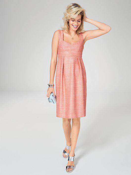 Сукня силуету ампір зі спідницею тюльпаном