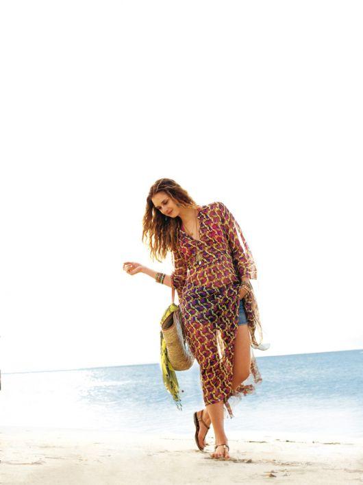 Сукня-каптан із пластроном