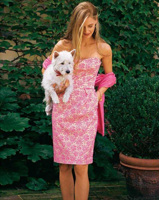 Сукня-корсаж жакардова