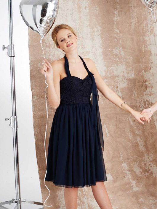 Сукня-корсаж з бретеллю-петлею