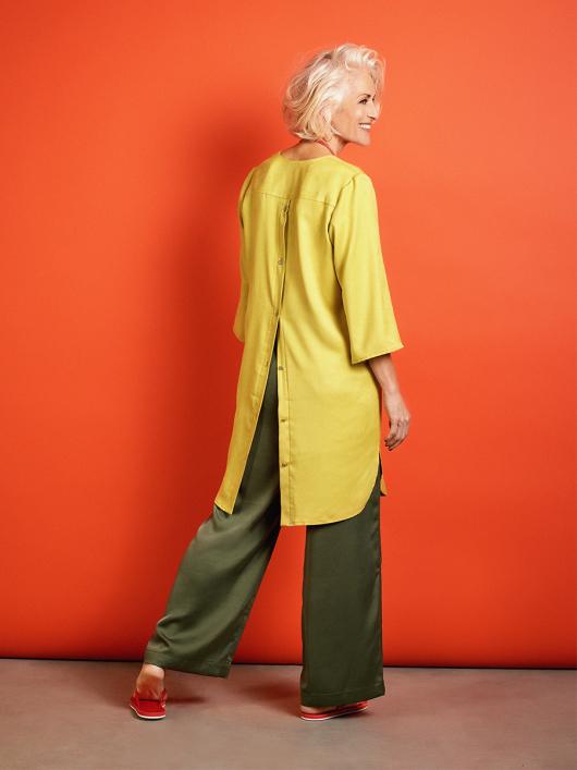 Сукня-туніка сорочкового крою