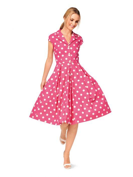 Сукня-сорочка зі спідницею в складку