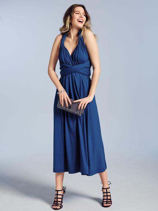 Сукня-трансформер із довгими зав'язками