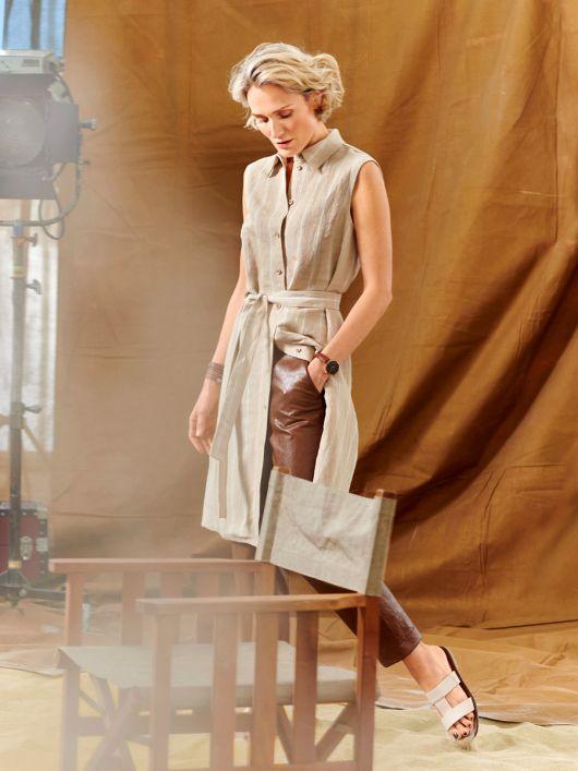 Сукня-жилет сорочкового крою