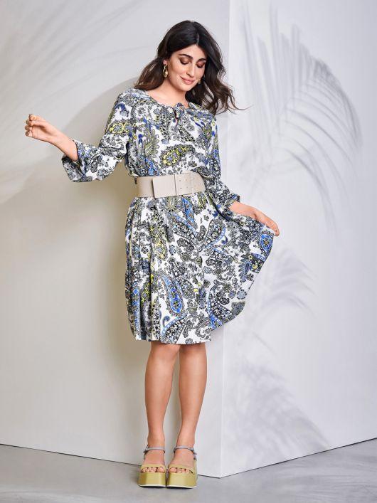 Сукня багатоярусна А-силуету