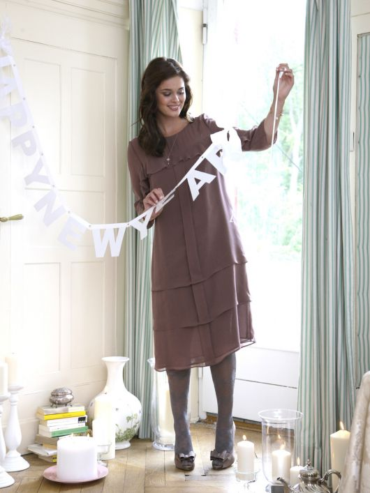 Сукня шифонова А-силуету