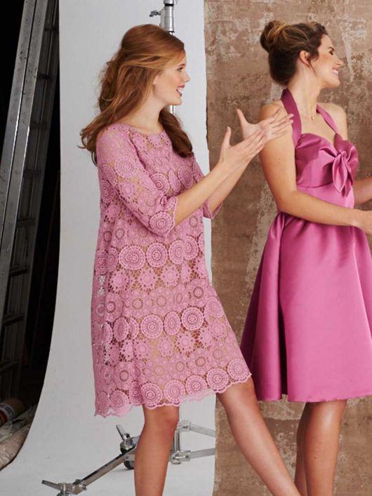 Сукня мереживна А-силуету