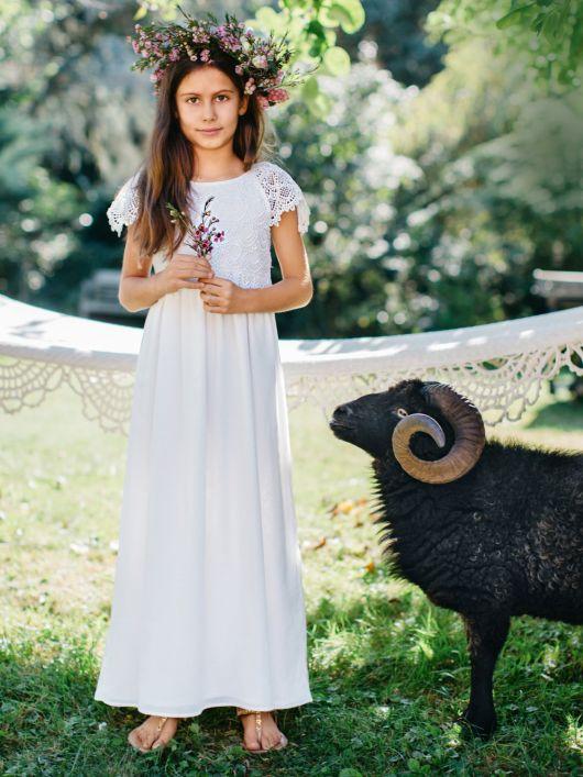 Сукня максі з рукавами-крильцями