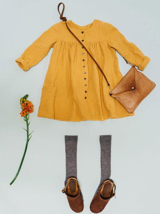 Сукня-сорочка із наскрізною застібкою