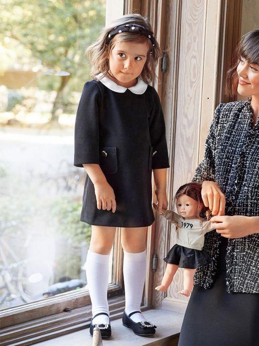 Сукня А-силуету з відкладним коміром