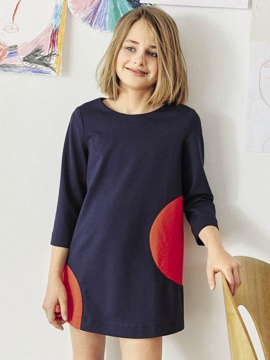 Сукня трикотажна А-силуету
