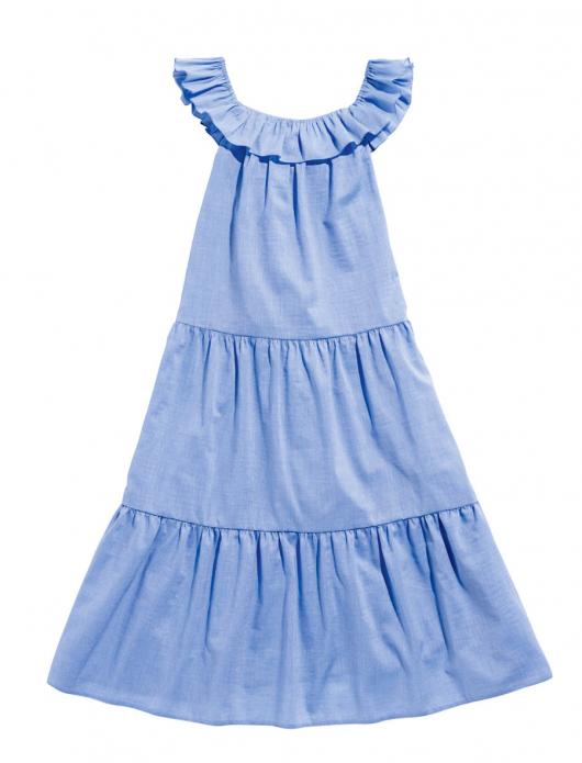Сукня довга розкльошена