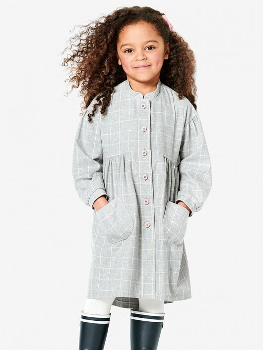 Сукня-сорочка із завищеною лінією талії