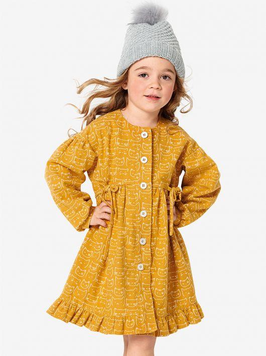 Сукня-сорочка з оборкою