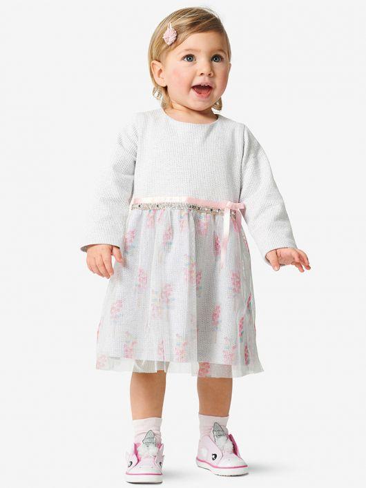 Сукня трикотажна з подвійною спідницею