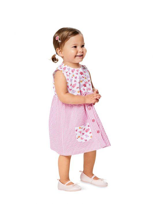 Сукня без рукавів із наскрізною застібкою