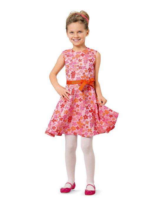 Сукня без рукавів із вшивним поясом з бантом