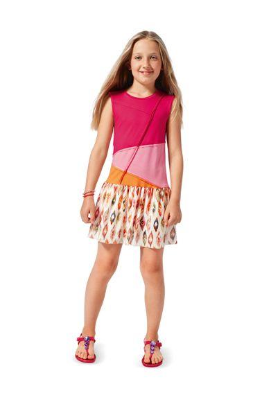 Сукня трикотажна із пишною бавовняною спідницею