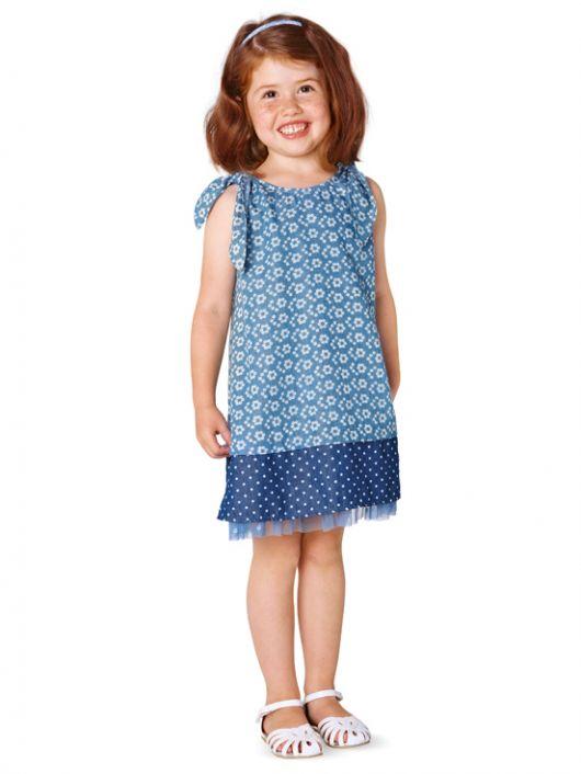 Сукня без рукавів із зав'язками на плечах