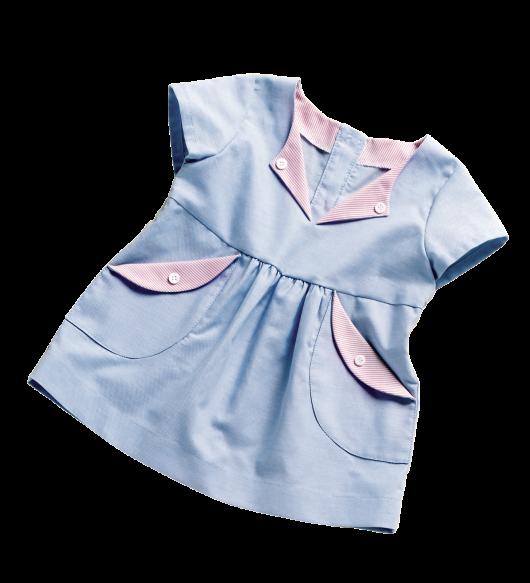 Сукня з відрізною спідничкою