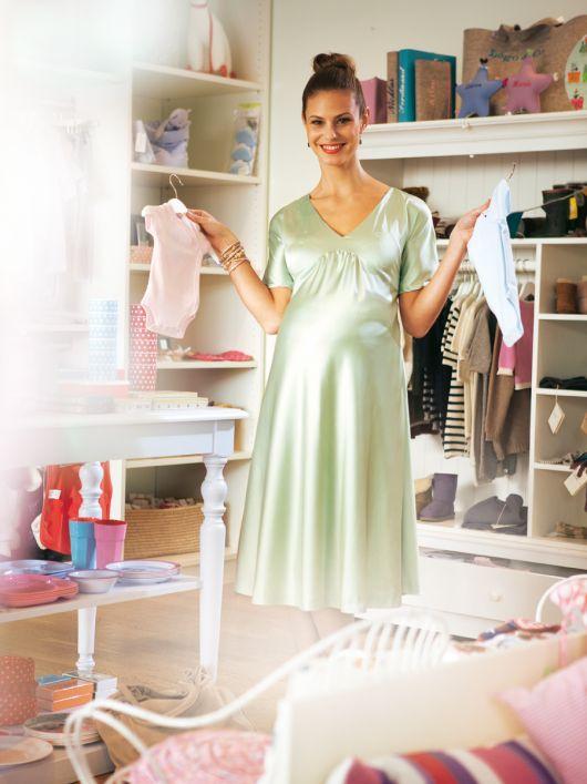 Сукня силуету ампір для майбутніх мам