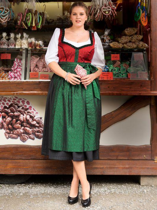 Сукня з ліфом-корсажем і фартухом