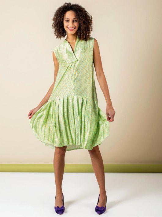 Сукня з плісированою спідницею