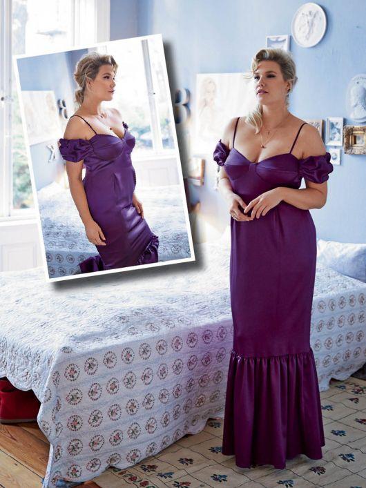 Сукня-бюстьє силуету «русалка»