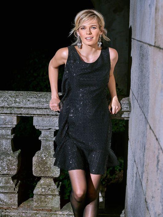 Сукня міні відрізна приталеного крою