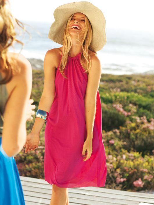 Сукня літня на бретелях