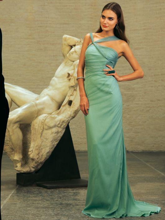 Сукня-корсаж довга зі шлейфом