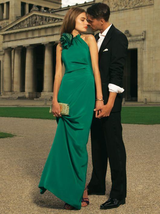 Сукня вечірня з американською проймою