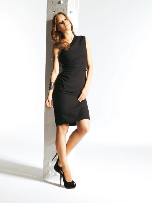 Сукня міні на одне плече