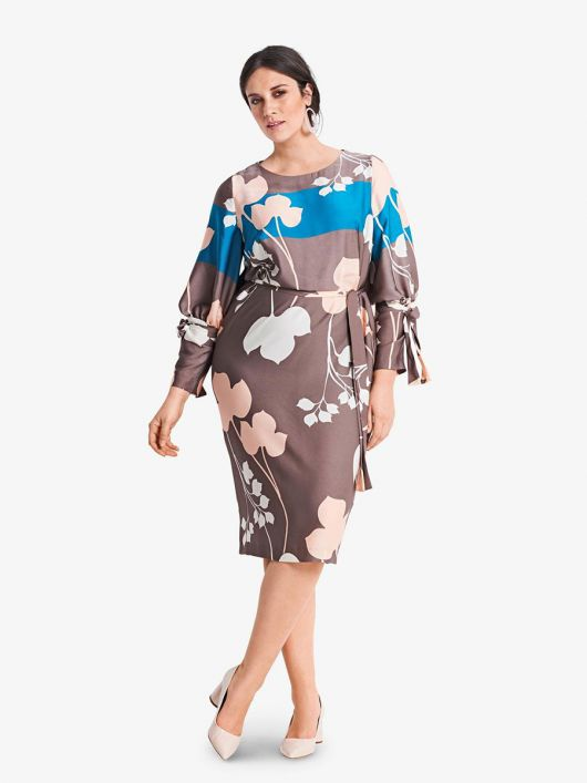 Сукня шовкова О-силуету
