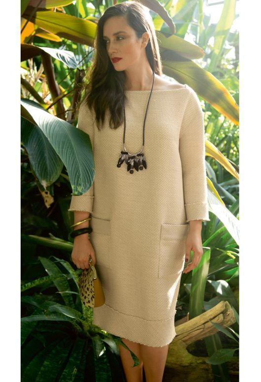 Сукня О-силуету з бахромою