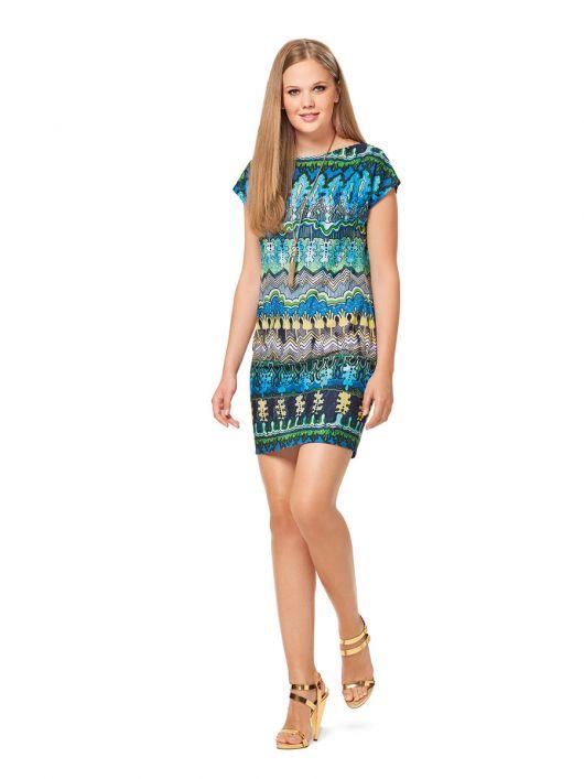 Сукня з приспущеною лінією плеча