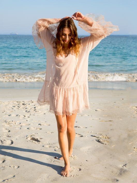 Сукня широка з рукавами реглан