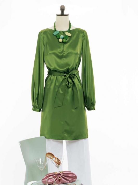 Сукня-туніка прямого крою