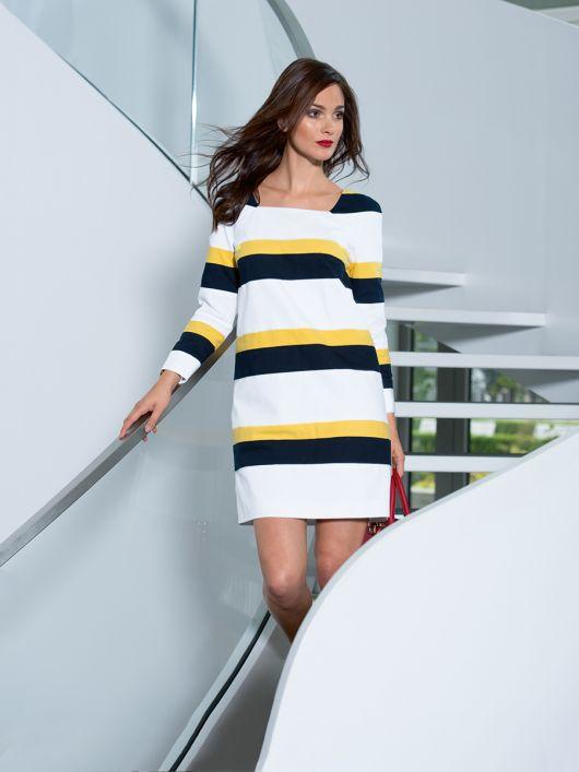 Сукня міні з довгими рукавами