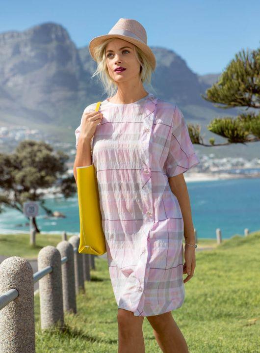 Сукня з рукавами кімоно