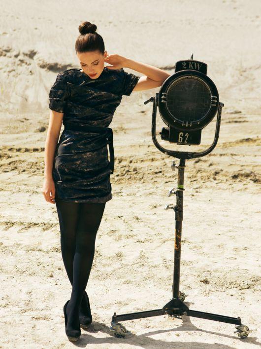 Сукня міні з драпіровками