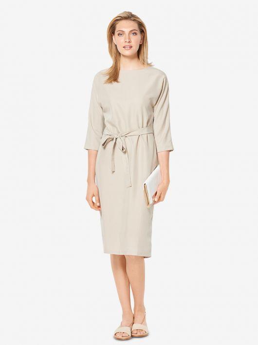 Сукня із суцільнокроєними рукавами