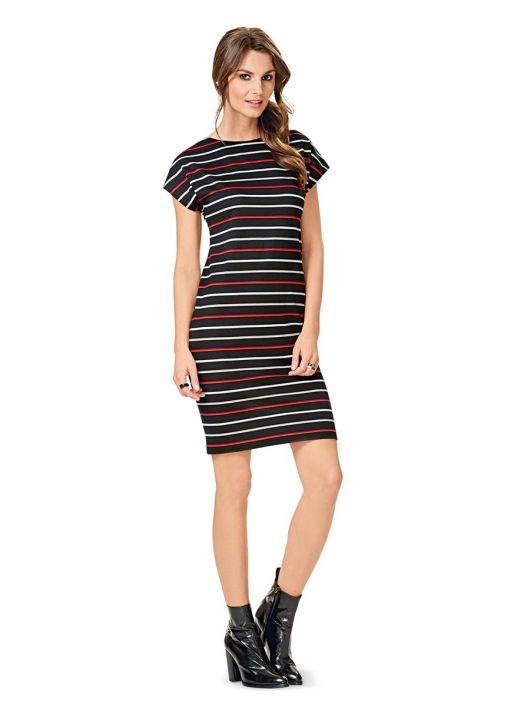Сукня міні трикотажна простого крою
