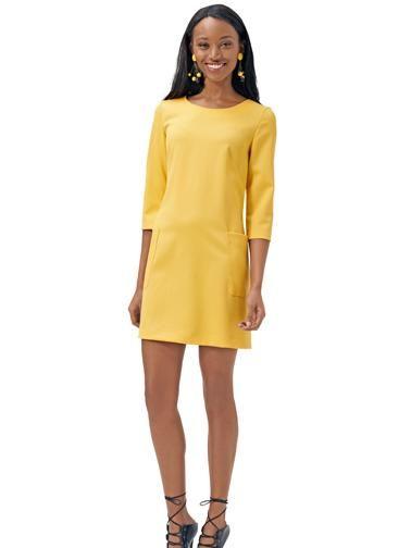 Сукня коротка з накладними кишенями