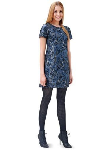 Сукня міні з короткими рукавами