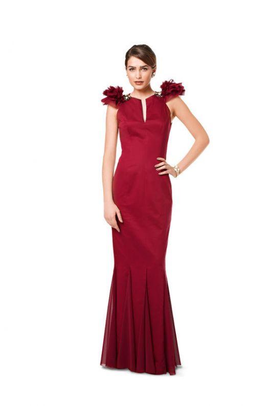 Сукня вечірня з оригінальними проймами