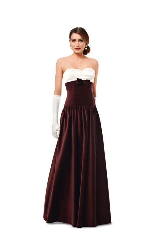 Сукня-корсаж вечірня довжини максі