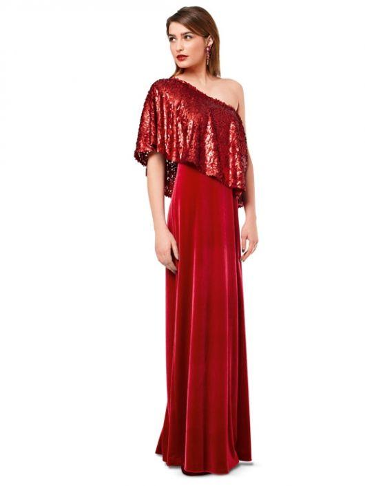 Сукня-бюстьє вечірня з пелериною