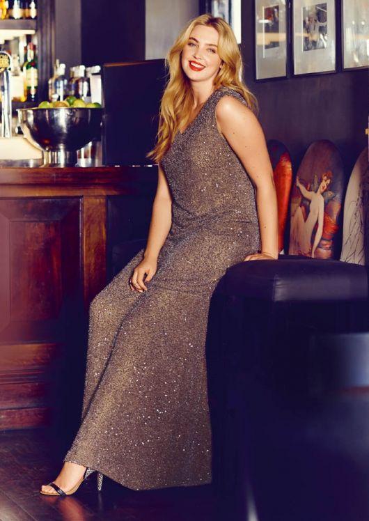 Сукня з імітацією міні-шлейфу